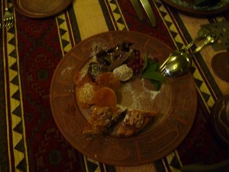 Armenian sweets.  Yummy!