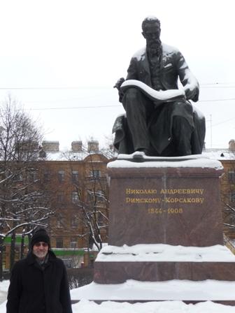 Statue of Rimsky-Korsakov