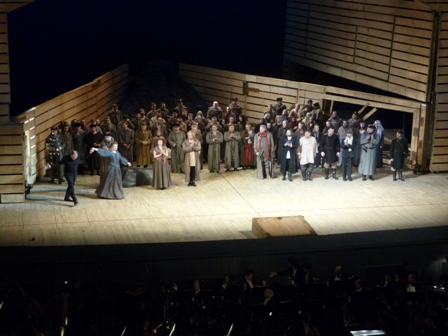 Lady Macbeth of the Mtsensk District curtain call